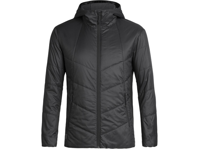 Icebreaker Helix Hooded Jacket Herr Black